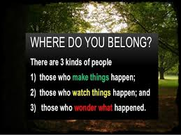 Where Do You Belong?