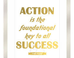 Taking Action Is The Key To Success