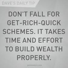 It Takes Time and Effort to Build Wealth