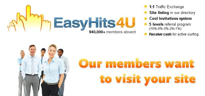 Is EasyHits4u A Scam? What Is EasyHits4u?
