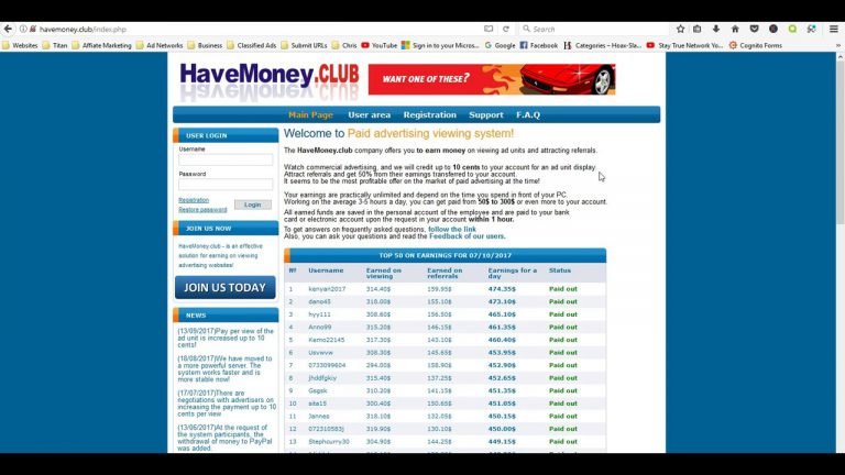 HaveMoney.Club Review from my own experience