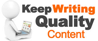 Keep Writing High Quality Content Consistently