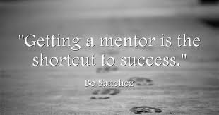 Importance of a mentor