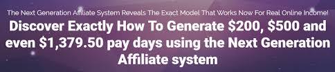 What Is Next Generation Affiliate - Affiliate Marketing Secret Revealed