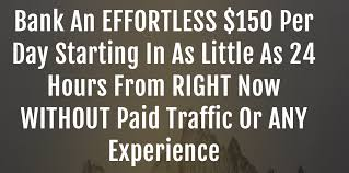 $150 Per Day Starting In As Little As 24 Hours.. True?