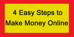 4 Steps To Making Money Online - Your Success Blueprint!