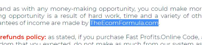 TheEcomFormula.Com