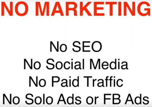 No SEO & NO SOCIAL MEDIA???