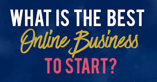 What Is The Best Online Business To Start From Home?