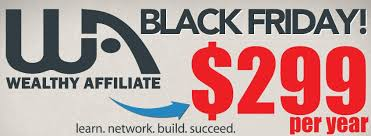 What Is The Wealthy Affiliate Black Friday Special?