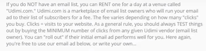 Rent Email