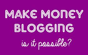 Do You Make Money Blogging Online?