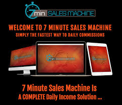 What Is 7 Minute Sales Machine?