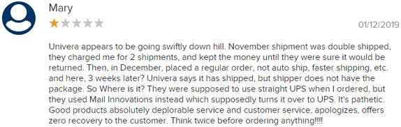Is Univera A Scam? - Complaints
