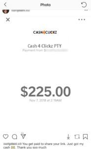 Is Cash4Clickz A Scam? - Fake Income Proof