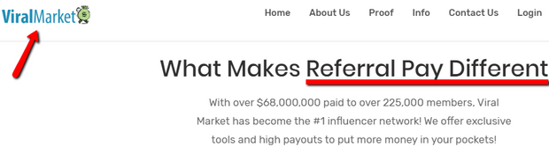 Viral Market Review - Referral Pay Or Viral Market?