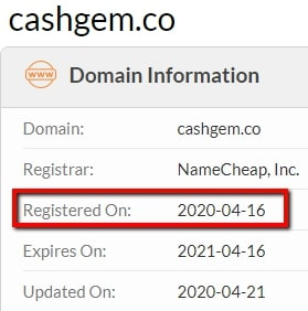 Cash Gem Review - Fake Launch Date