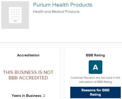 Is Purium A Scam? - BBB Rating