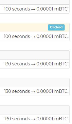 Is BTCClicks A Scam? - BTCClicks Ads Duration