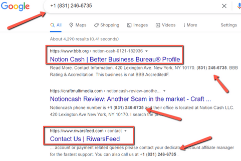 Is RewardsFeed A Scam? - Fake Contact Number