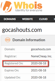 What Is GoCashouts? - Launch Date