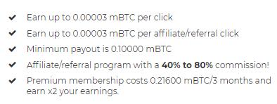 Is BTCClicks A Scam? - BTCClicks Special Features