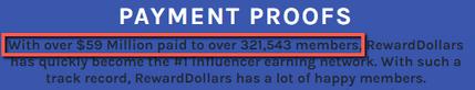 Is Reward Dollars A Scam? - Fake Claim