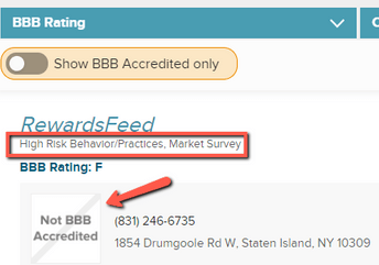 Is RewardsFeed A Scam? - BBB Rating