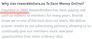 Is Reward Dollars A Scam? - Fake Launch Date