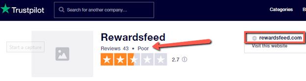 Is RewardsFeed A Scam? - Trustpilot Rating