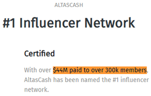 What Is AltasCash? - Fake Payment Amount And Fake Members Count