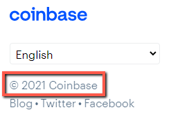 Is WiredBucks A Scam? - Coinbase Copyright Year