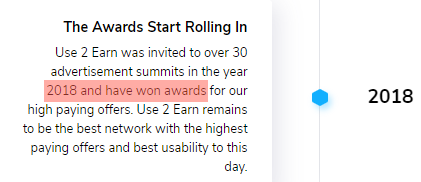 What Is Use2Earn? - Fake Awards Claim