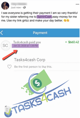 What Is Tasks4Cash? - Another Fake Payment Proof