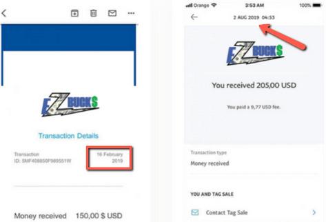 EZ Bucks Review - Fake Income Proof