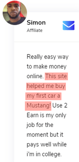 What Is Use2Earn? - Fake Testimony