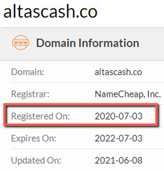 What Is AltasCash? - Original Launch Date