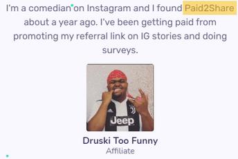 Is Paid2Share Legit? - Fake Testimony On Paid2Share