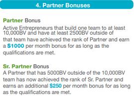 Is Bonvera A Scam? - Partner Bonuses