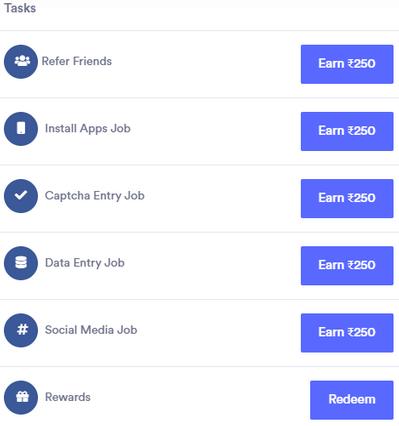 Rupee4Click Review - Fake Tasks And Earnings